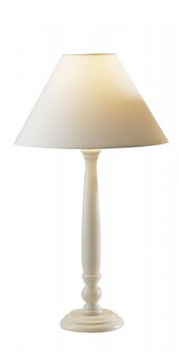 Large Regal Cream Table Lamp + Shade REG4333 (782807)